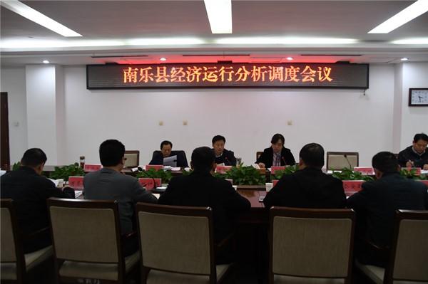 县委副书记、县长曹拥军组织召开经济运行调...