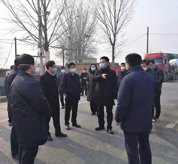 市长杨青玖到我县检查疫情防控工作