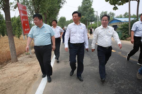 县委副书记、县长曹拥军调研全县防汛工作